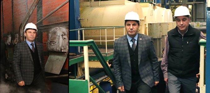 Vali Işık Şeker Fabrikasını Ziyaret Etti