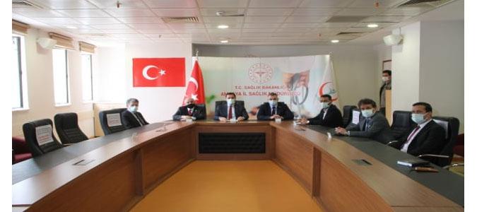 Vali Masatlı; '600 yataklı eğitim ve araştırma hastanesi Amasya'mıza ve halkımıza hayırlı olsun'