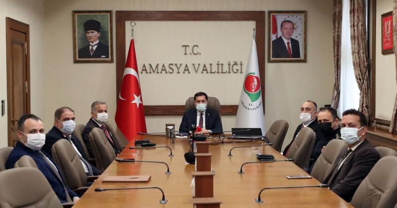 Vali Masatlı; 'Aşılamaya Gösterdikleri İlgiden Dolayı Değerli Amasyalılara Teşekkür Ediyorum'