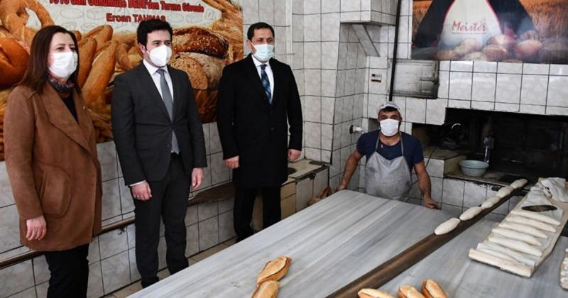 Vali Masatlı, Gümüşhacıköy'de Kovid-19 Denetimine Katıldı