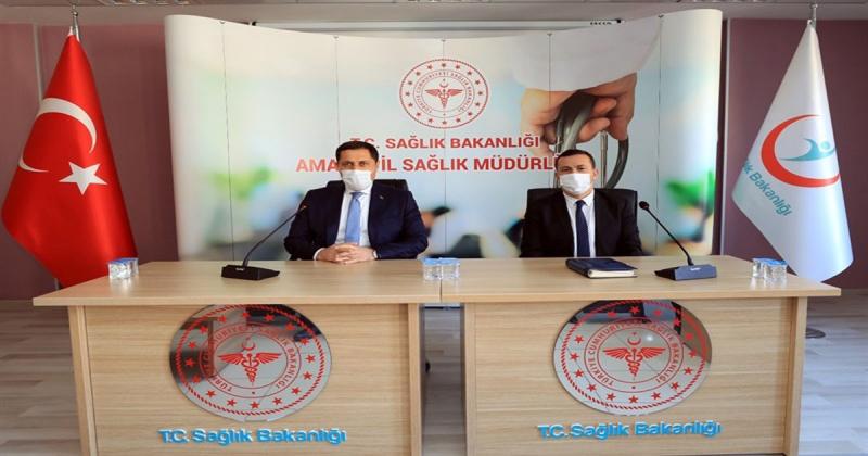 Vali MASATLI, Sağlık Teşkilatının Yöneticileriyle Bir Araya Geldi