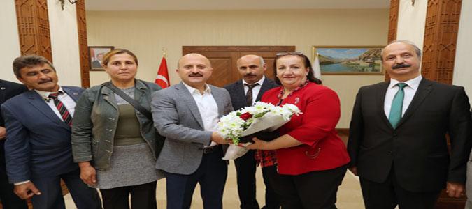 Vali Varol, 19 Ekim Muhtarlar Günü Dolayısıyla Kabul Ettiği Muhtarların Günlerini Kutladı