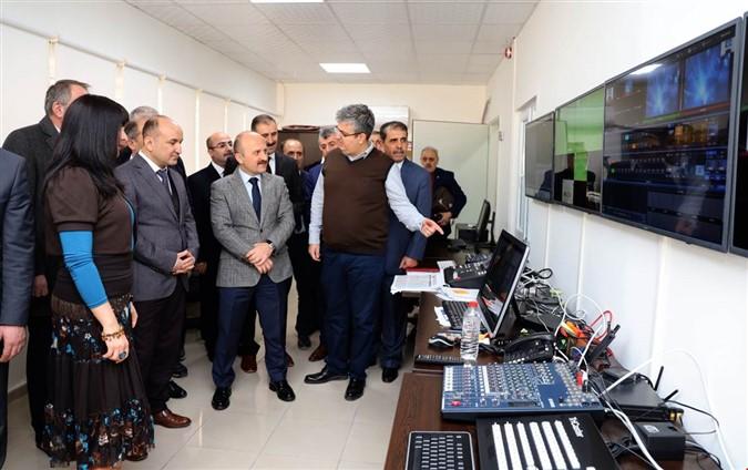 Vali Varol Amasya Üniversitesi'ni Ziyaret Etti
