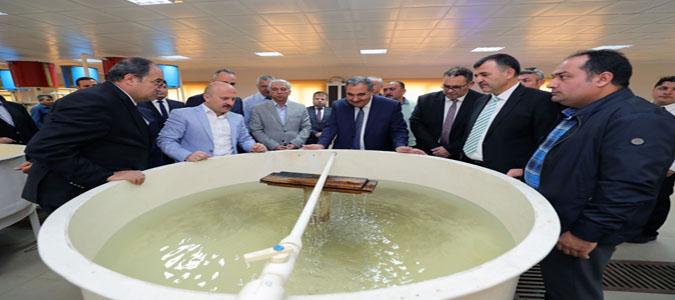 Vali Varol, Suluova Yedikır Su Ürünleri Üretim ve Araştırma İstasyonunda İnceleme Gerçekleştirdi