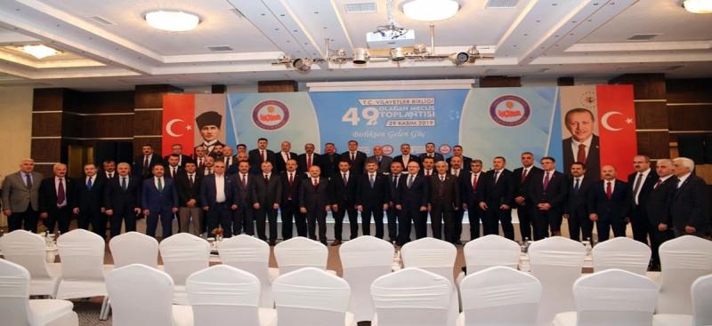 Vali Varol, Vilayetler Birliği'nin 49. Olağan Genel Meclis Toplantısına Katıldı