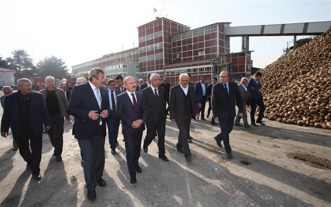 VALİDEN AMASYA ŞEKER FABRİKASI'NA ZİYARET