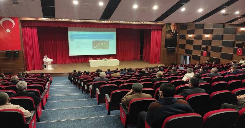 'Vefa Sosyal Destek Grubu' Ekiplerine Yeni Tip Koronavirüs ve Hijyen Konusunda Eğitim Verildi