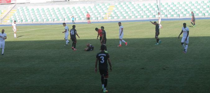 Yeni Amasyaspor hazırlık maçında Ladik'i 2-1 ile geçti