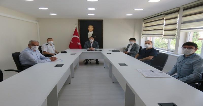 YKS Sınav Koordinasyon Toplantısı Yapıldı