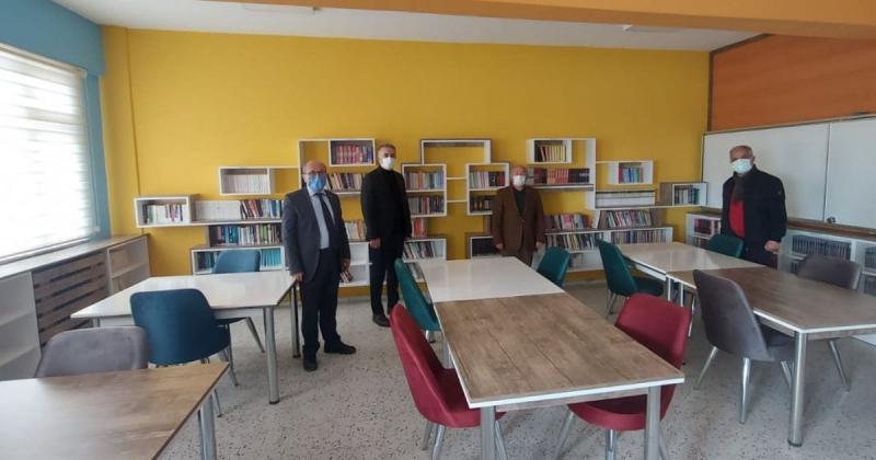Z-Kütüphane Öğrencilerin Hizmetine Girdi