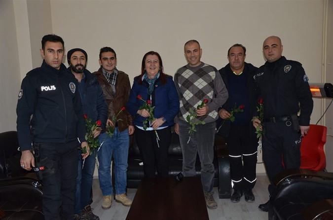 Zehra Özyol'dan Yeni Yıl Ziyaretleri