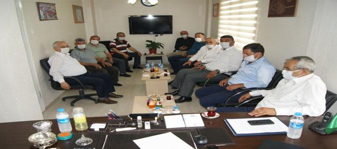 Ziraat Odaları İl Koordinasyon Toplantısı Gümüşhacıköy'de Yapıldı