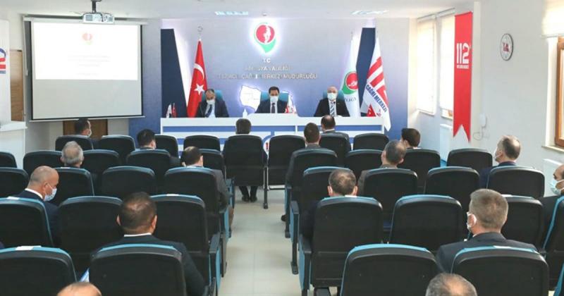 2021 yılı 2. İl Koordinasyon Kurulu Toplantısı Gerçekleştirildi