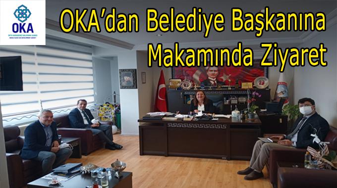 OKA'dan  Belediye Başkanı ÖZYOL'u Makamında Ziyaret