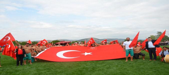 348 Güreşçi Gümüşhacıköy Er Meydanında