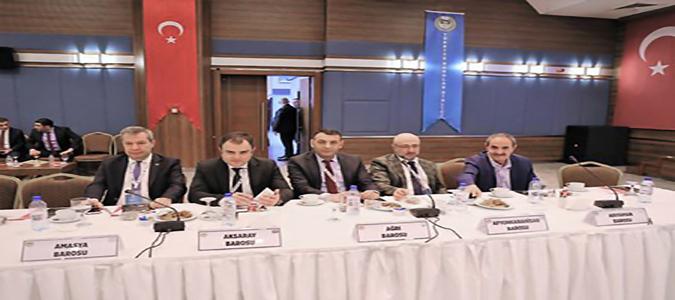40. Baro Başkanları Toplantısı Ankara'da Yapıldı