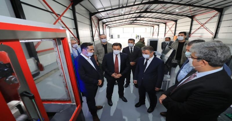 5 Eksen CNC Tezgahlar Merzifon'da Üretilecek