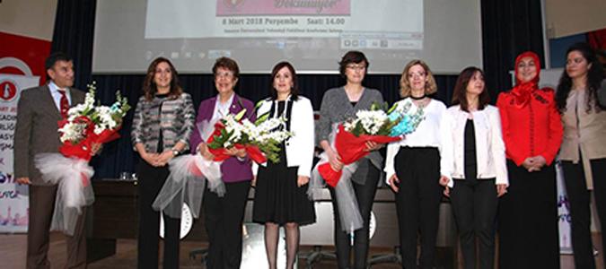 """8 Mart Dünya Kadınlar Günü"""" paneli düzenlendi"""