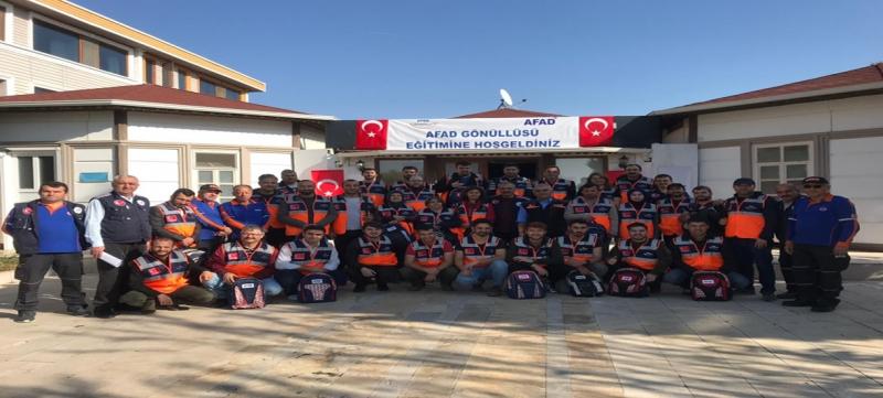 Amasya AFAD Gönüllülerine Yönelik Temel Afet Bilinci ve Arama Kurtarma Eğitimleri Gerçekleştirildi
