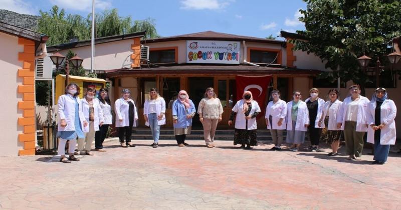 Amasya Belediyesi Çocuk Yuvası Eğitim-Öğretime Hazır