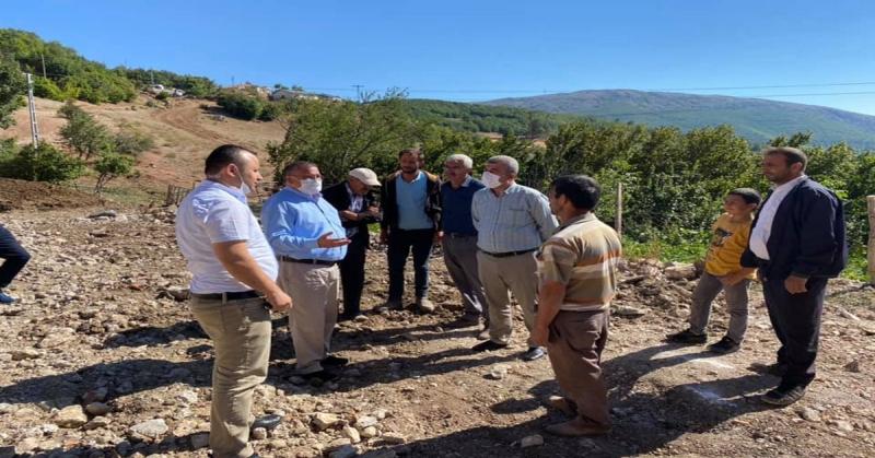 Amasya CHP'den Geçmiş Olsun Ziyareti
