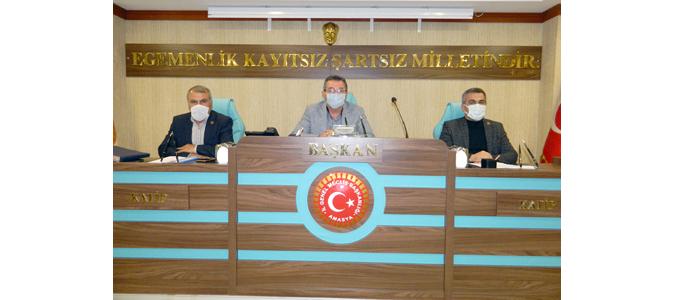 Amasya İl Genel Meclisi Nisan Ayı Son Toplantısı Yapıldı