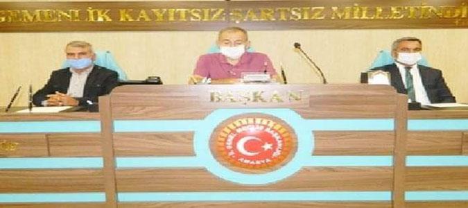 Amasya İl Genel Meclisi 2020 yılı Ağustos Ayının ilk Toplantısını Gerçekleştirdi