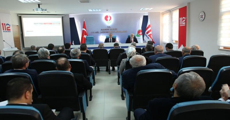 Amasya İl Koordinasyon Kurulu 2020 yılı 1. Toplantısı Gerçekleştirildi