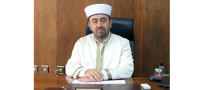 Amasya İl Müftüsü Durmuş Ayvaz'ın Ramazan Mesajı