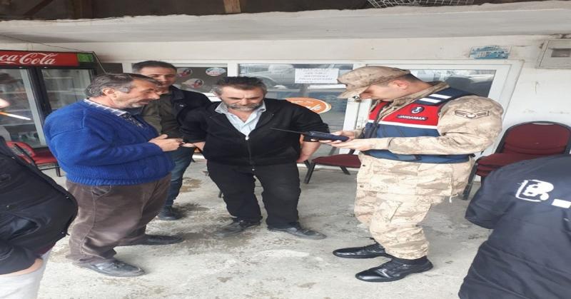 Amasya Jandarma'dan Huzur ve Güven Uygulaması