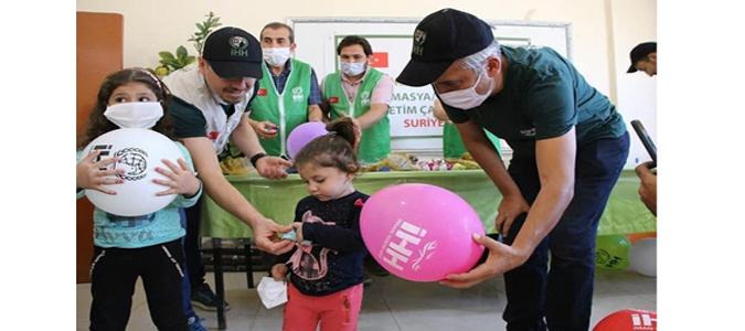'Amasya-Merzifon İsmet Kaya Yetimhanesi' Afrin'de Açıldı