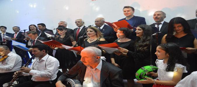 Amasya Tamimi'nin 100. Yıl Dönümü Adına Türk Halk Ve Türk Sanat Müziği Konseri Düzenlendi