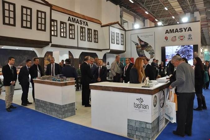 AMASYA 'TRAVEL TURKEY İZMİR FUARI'NDA DÜNYAYA TANITILIYOR