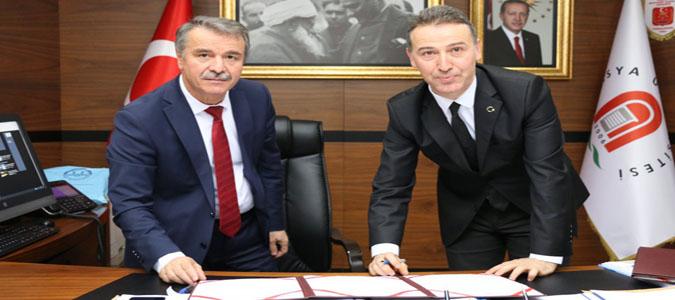 Amasya Üniversitesi ile Eğitimde İş Birliği Protokolü İmzalandı