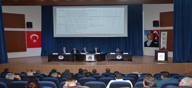 Amasya Üniversitesi 'Yenilenebilir Güneş Enerjisi' Konulu Panel Düzenlendi