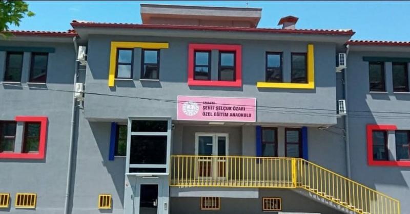 Amasya'da Bir İlk, Özel Eğitim Anaokulu Eylül Ayında Hizmete Giriyor
