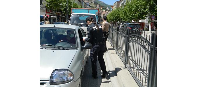 Amasya'da İzin Belgesi Olmayan Kişilere Ceza Kesildi