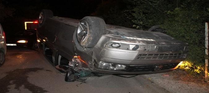 Amasya'da Trafik Kazası: 3 Yaralı