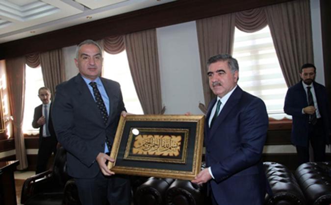 Bakan Ersoy'dan Cafer Özdemir'e Ziyaret