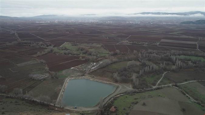 Gümüşhacıköy'de Tarım Alanları Suya Kavuştu