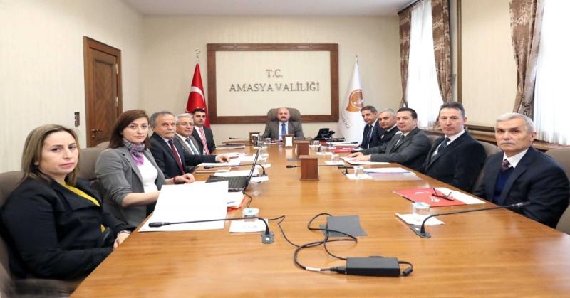 Kadına Yönelik Şiddetle Mücadele İl Koordinasyon, İzleme ve Değerlendirme Komisyonu Toplantısı Gerçekleştirildi