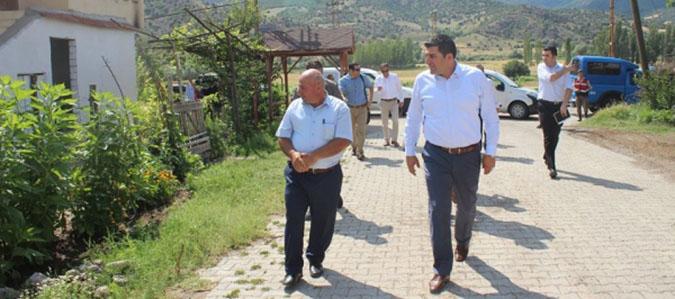 Kaymakam Doğan Köy ziyaretlerine devam ediyor