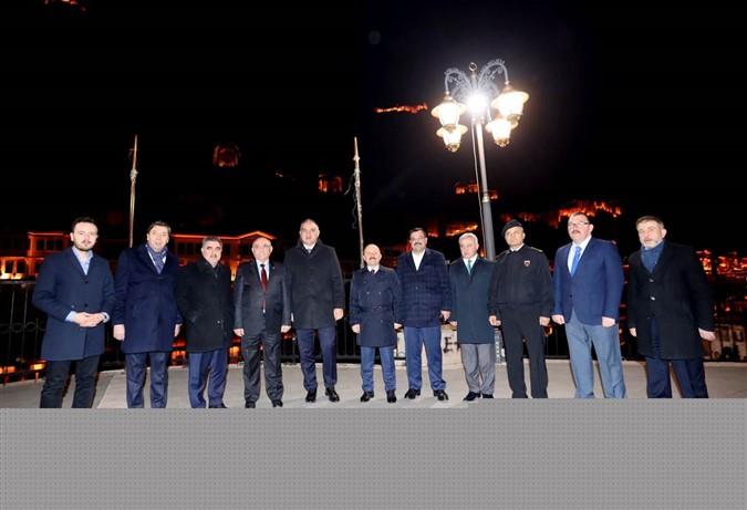 Kültür ve Turizm Bakanı Mehmet Nuri Ersoy Amasya'da