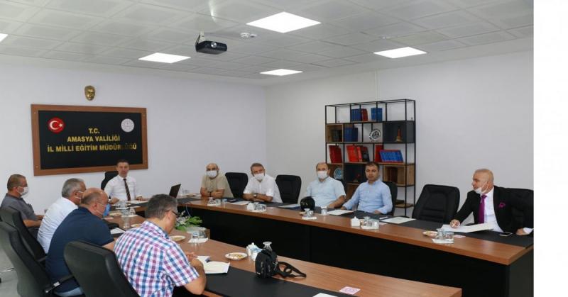 LGS-YKS Sınav Sonu Değerlendirme Toplantısı Düzenlendi