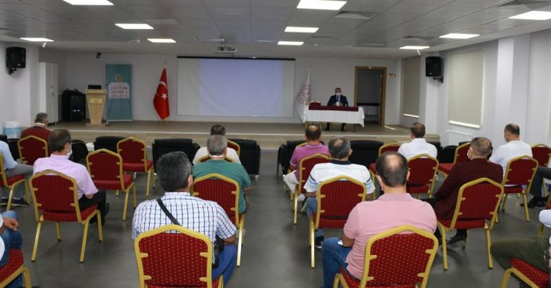 Merkez İlçe Okul Müdürleri İle Toplantı Düzenlendi