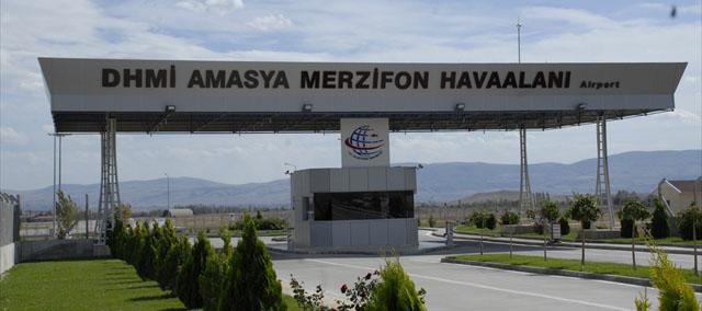 Merzifon Havaalanı'ndan Kasım ayında 19 bin 722 yolcu uçtu