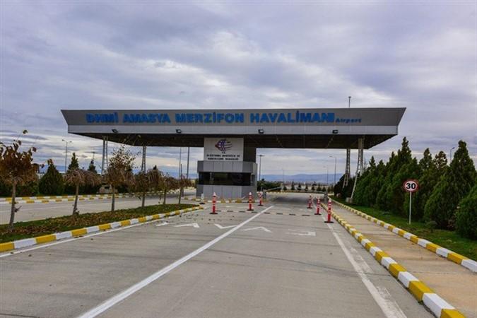 Merzifon Havalimanı Ocak Ayında 19.699 Yolcuya Hizmet Verildi