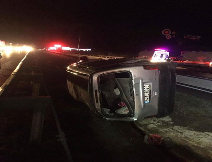 Merzifon-Samsun Karayolu 7. Km'sinde Trafik Kazası