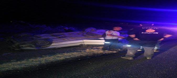Merzifon'da Trafik Kazası : 3 Yaralı