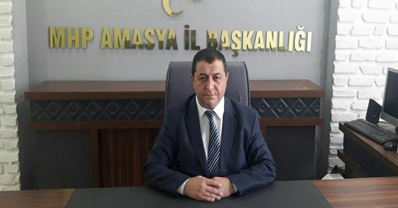 MHP Amasya İl Başkanı Erhan Demir Görevinden Ayrıldığını Açıkladı